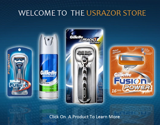 Top Brand Gillette Trac II, Atra, Sensor, Mach3, Fusion Flex Ball Razor, Venus, Refill Catridges and Schick Quattro, Hydro5, FX Diamond, Silk Effects, Hydro Silk for the lowest price guaranteed with free US same day shipping