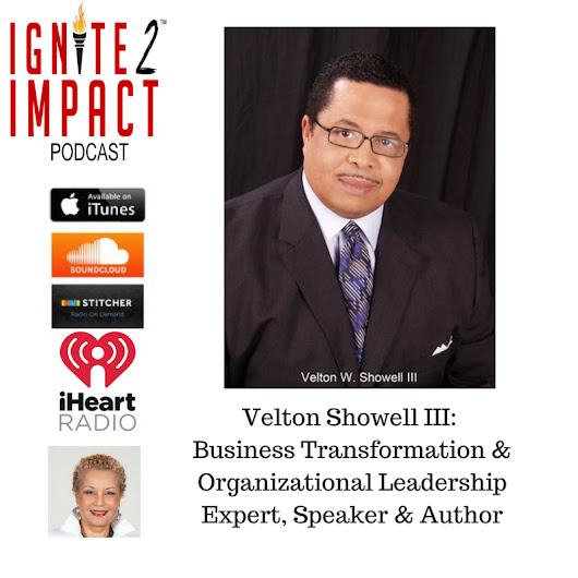 Velton Showell: Tranformational Approach to Leadership Ep. 44 - Dr. Geneva Speaks