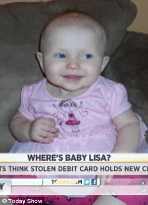 Baby blue eyes: Jeremy Irwin and Deborah Bradley have notified authorities in Greece that their Lisa could be little Maria