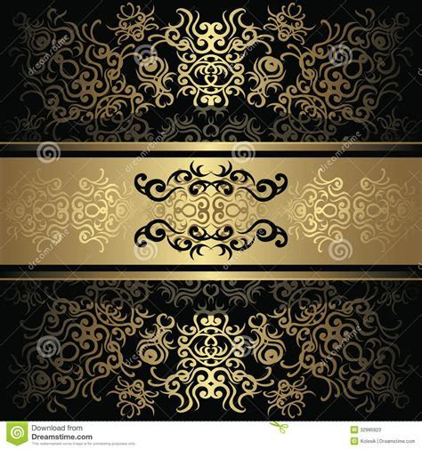 Vintage Background With Lace Decoration Stock Photos
