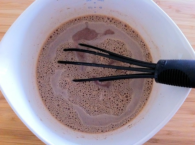 Milk and Chocolate Whisked Together