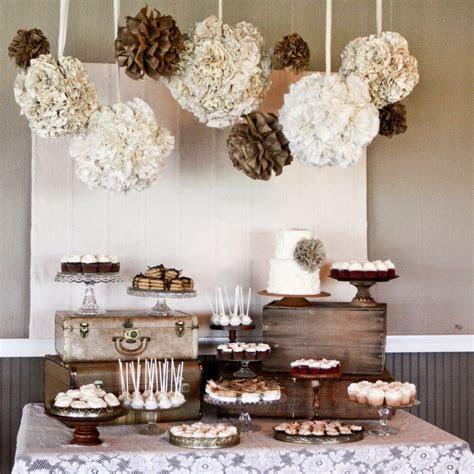 burlap lace wedding reception decor rustic elegant neutral