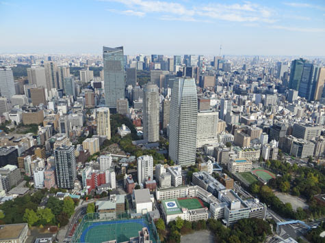 Districts of Tokyo Japan - Tourist Attractions
