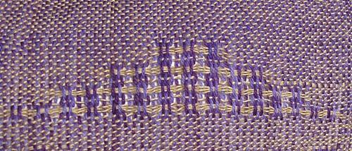 Swedish Lace, before washing