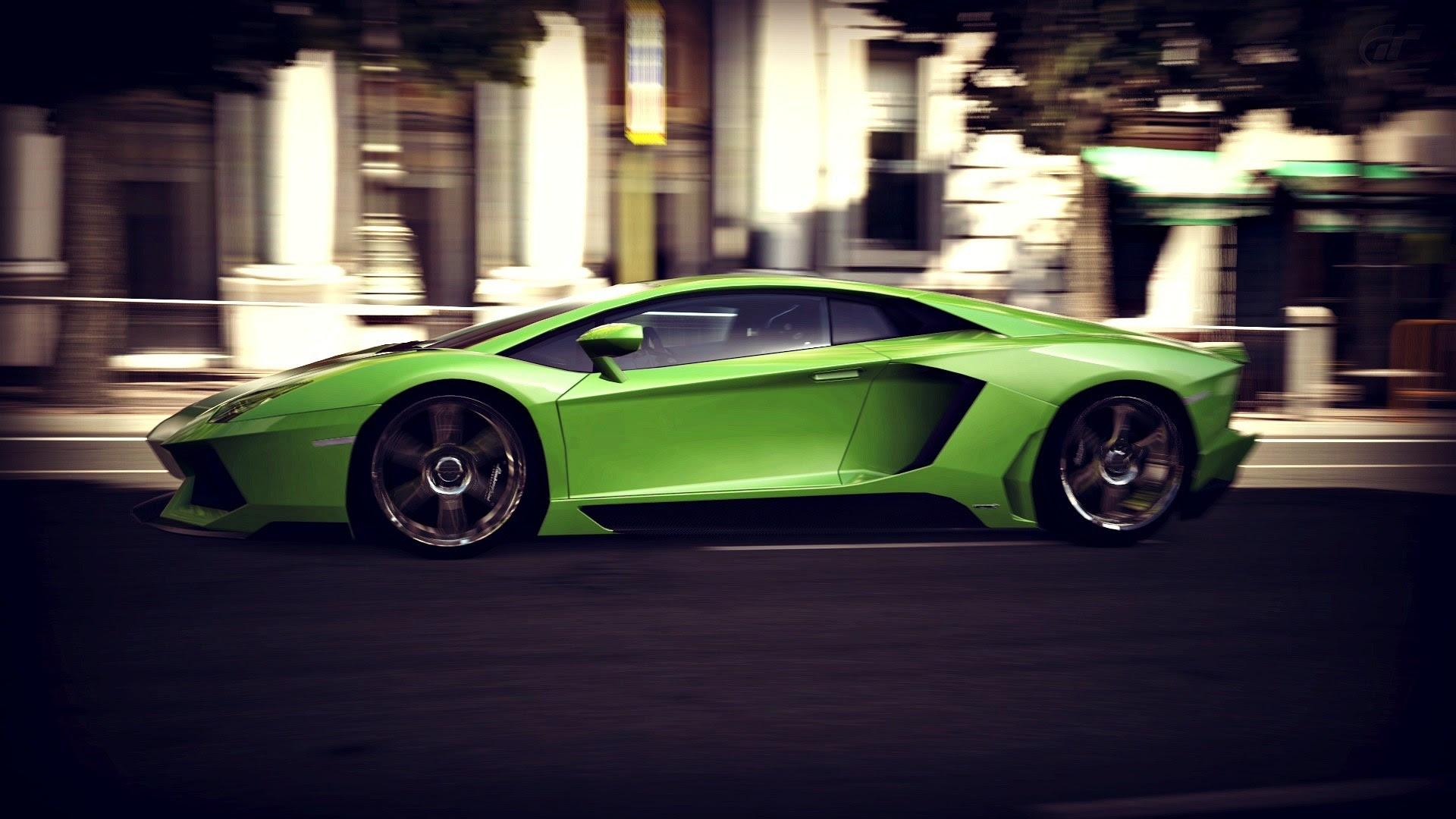 Lamborghini Aventador Game Race Wallpaper 1920x1080 9407