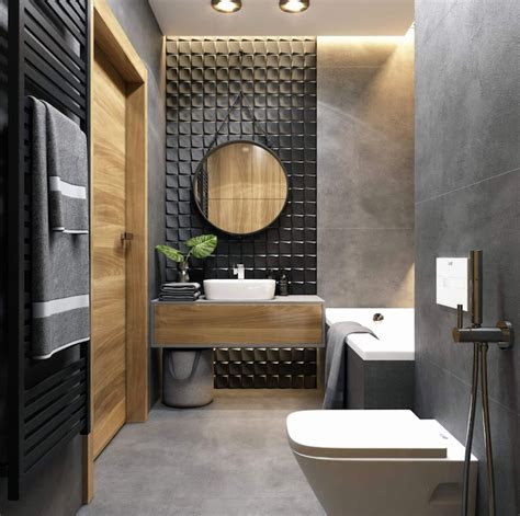 beautiful  modern bathroom designs  small spaces