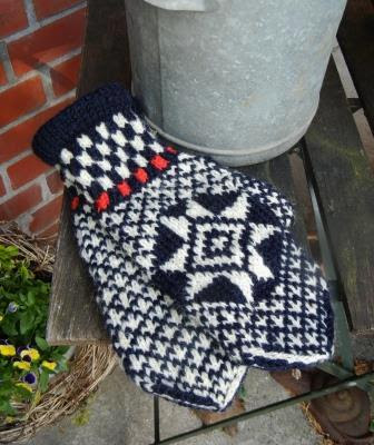 Norweger Handschuh