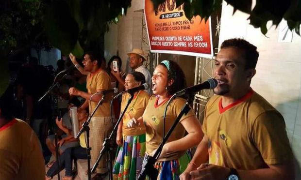 Samba de Coco Trupé de Arcoverde completa nove anos / Foto: divulgação/Prefeitura de Arcoverde