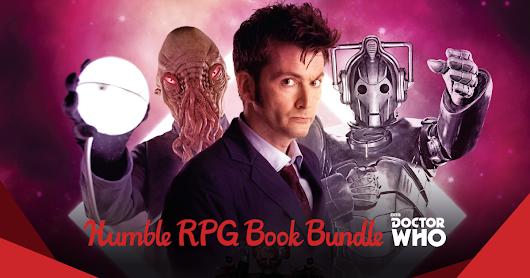 Humble RPG Book Bundle: Doctor Who