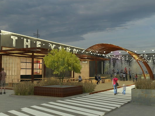 Creative development unveiled near Austin's massive new public market