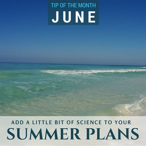 Tip of the Month {Summer Science} - Audio Blog by Paige Hudson