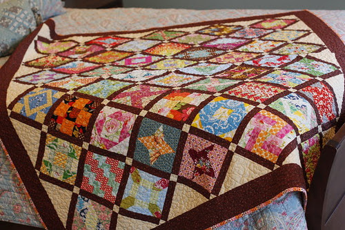 The Farmer's Wife Sampler: a finished quilt