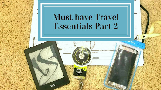 Must Have Travel Essentials Part 2 - T and A in the US of A