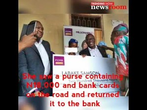 Teenage student rewarded for returning lost cash, ATM cards in Ogun, See what he was given