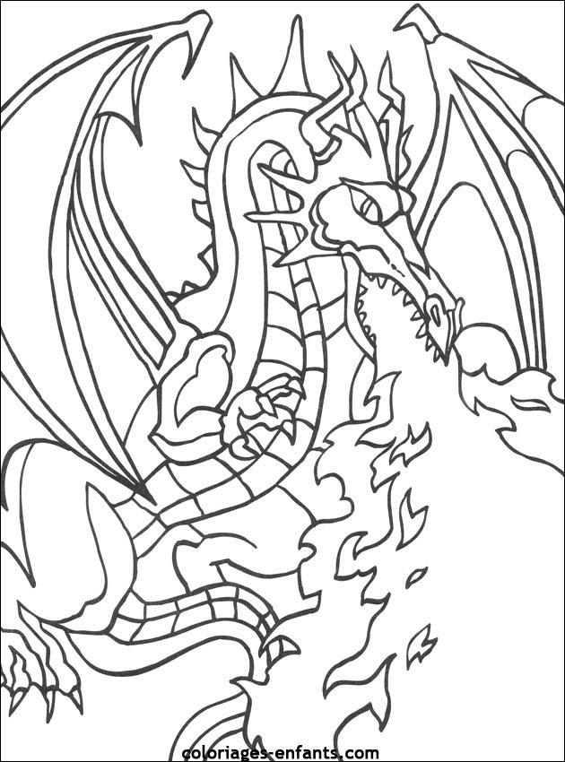 157 Dessins De Coloriage Dragon à Imprimer Sur Laguerchecom Page 2