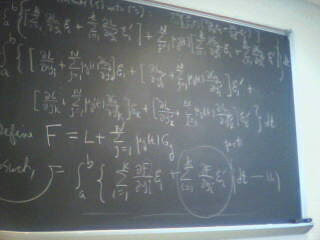 Just and average day in Math 347