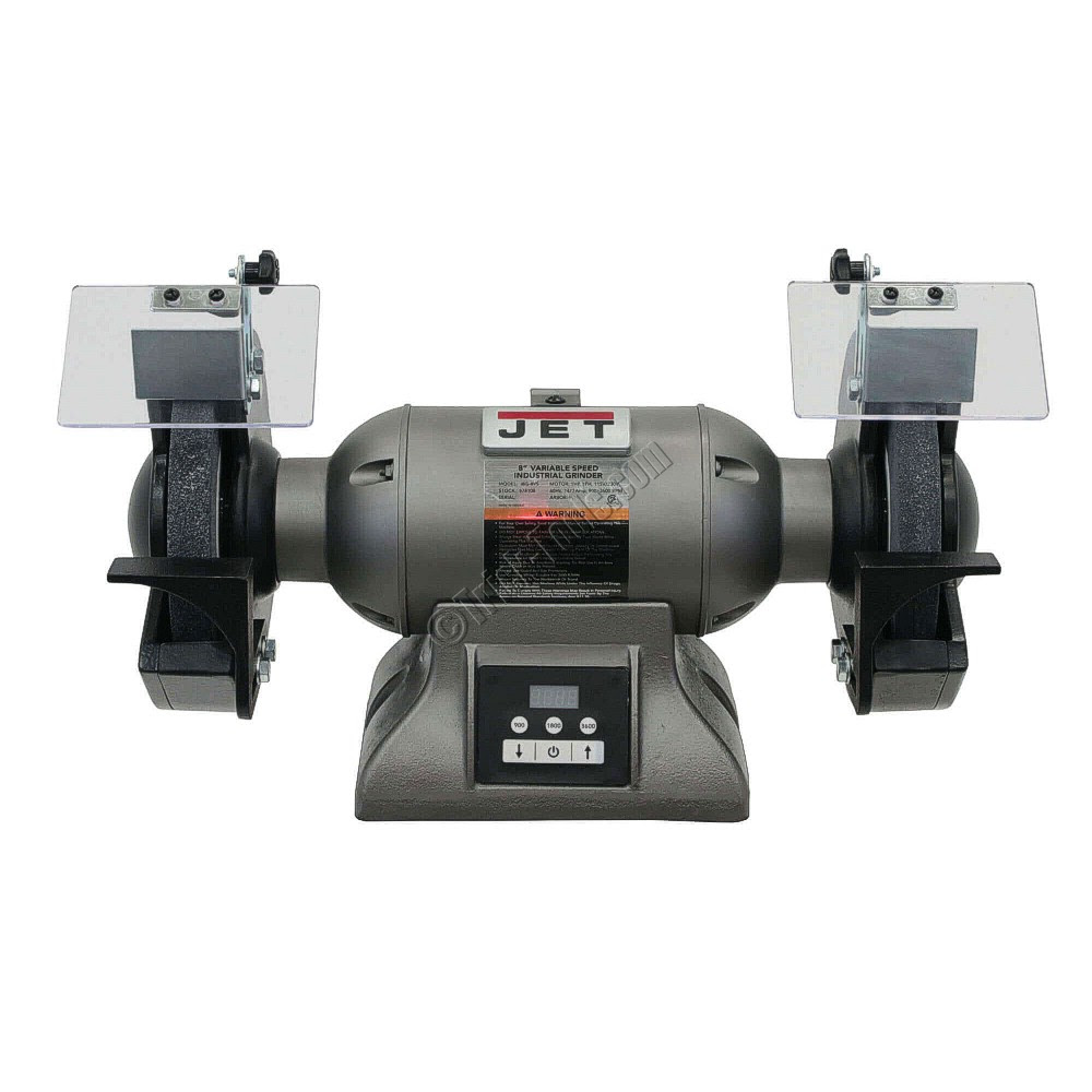 578208, JET IBG-8VS, 8 inch Variable Speed Industrial Bench ...