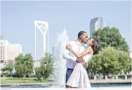 Danielle & Javis: Marshall Park Engagement Session - Just a Dream Photography: Charlotte, NC Wedding Photographers