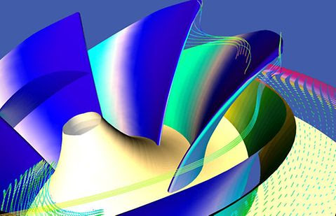 Computer simulation at KSB – for optimised hydraulic component development