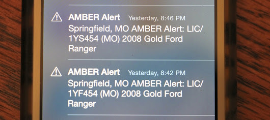 Do Amber Alerts on your phone annoy you?