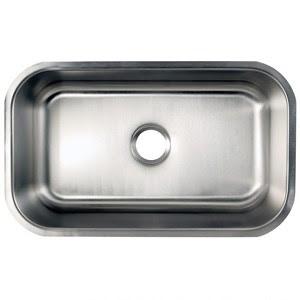 28 Inch Stainless Steel Undermount Single Bowl Kitchen Sink