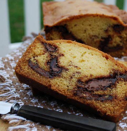 Nutella swirl poundcake1
