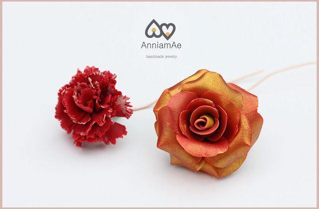 Annia mAe complementos y bisutería artesanal: Flores