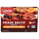 Lightlife Plant Based - Vegetarian - Gluten Free & Kosher Smart Bacon 5Oz (Pack Of 12)