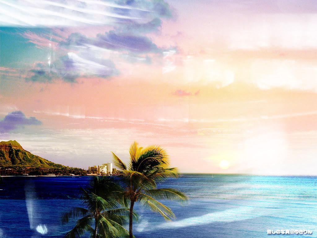 少女と本の旅人 風景壁紙 海 きれいな海 壁紙にしたくなる 画像