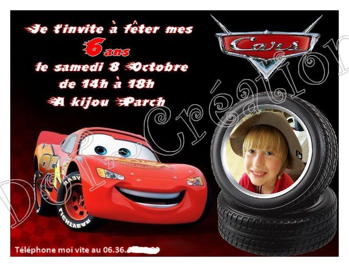 Carte D Invitation Anniversaire Cars A Imprimer Invitation Lisaoycwilson Web