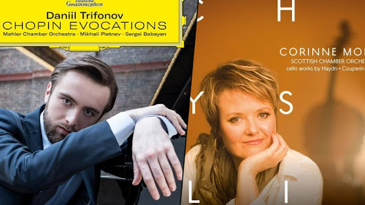 New Releases: Daniil Trifonov plays Chopin and 'Chrysalis' by Corinne Morris