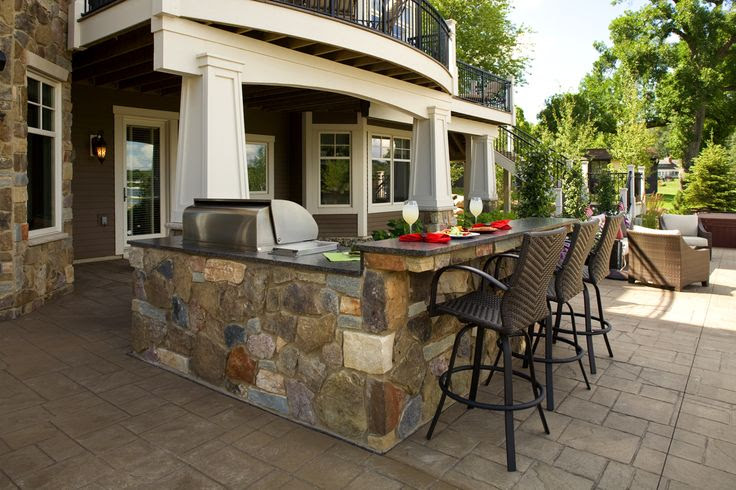 Small+Outdoor+Kitchen+Ideas | Southview Design: Outdoor Living