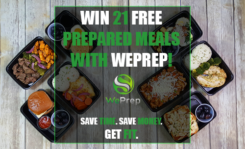 Win 21 Free Prepared Meals from WePrep!