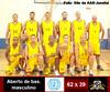 Clube Jundiaiense perde pela 2ª vez e está fora da próxima fase do Aberto de basquete