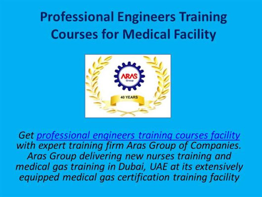 Professional Engineers Training Courses for Medical Facility