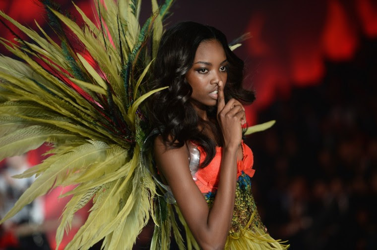 Model Maria Borges walks the runway at the 2013 Victoria's Secret Fashion Show at Lexington Avenue Armory on November 13, 2013 in New York City. (Dimitrios Kambouris/Getty Images)