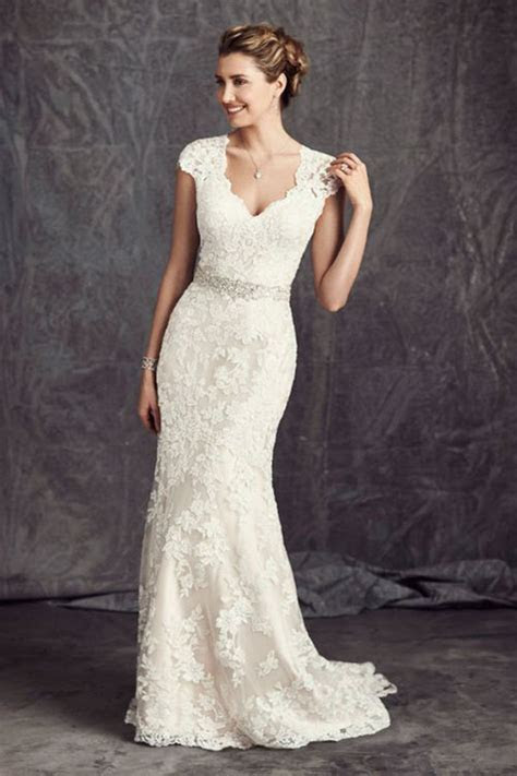 The Most Popular Lace Wedding Dresses, According To