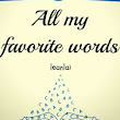 All My Favorite Words Ghouls - Wattpad