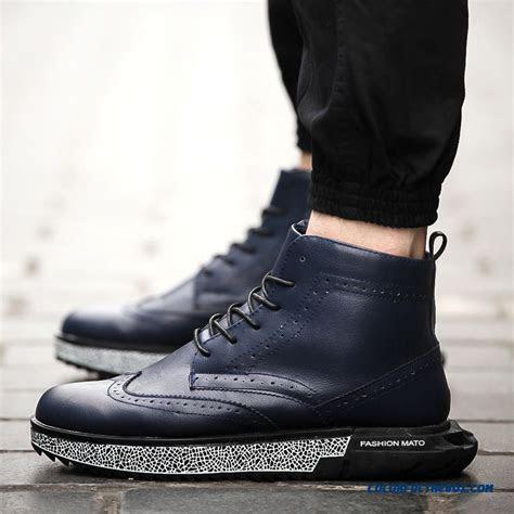 cheap  design men boots short high cut casual fashion warm black shoes sale