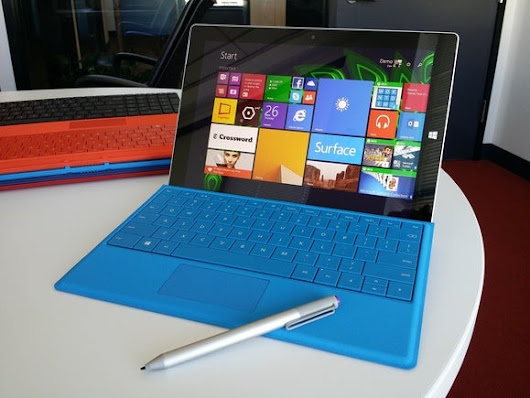 Microsoft Surface 3 promises great battery life, costs just $499 and runs Windows 8.1