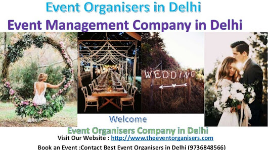 Best Event Organisers in Delhi