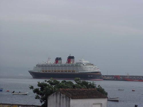 Disney Wonder in Punta Delgada, Azores