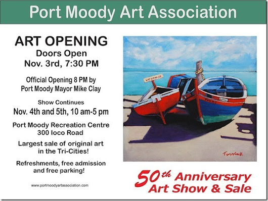 Port Moody Art Association 50th Annual Exhibition & Sale - 123Dentist