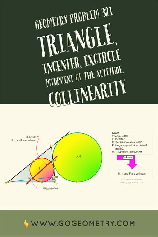 Typography of Geometry Problem 321: Triangle, Circle. iPad Apps