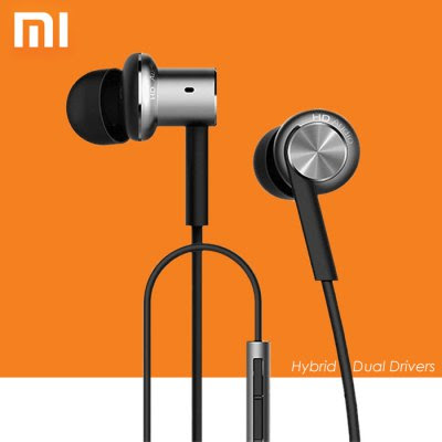 Original Xiaomi Hybrid Dual Drivers Earphones Mi IV In-Ear Headphones Pro-17.89 and Free Shipping| GearBest.com