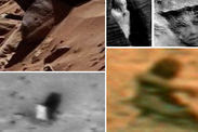 Mars STATUES relics ancient Martian civilisation