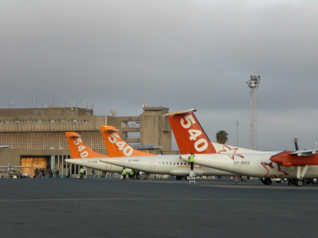fly540 Kenya in Nairobi