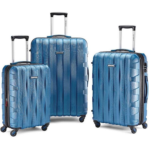 Samsonite Ziplite 3.0 Hardside Spinner Luggage, Blue, 20 Carryon