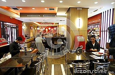 fast-food-restaurant-interior- ...