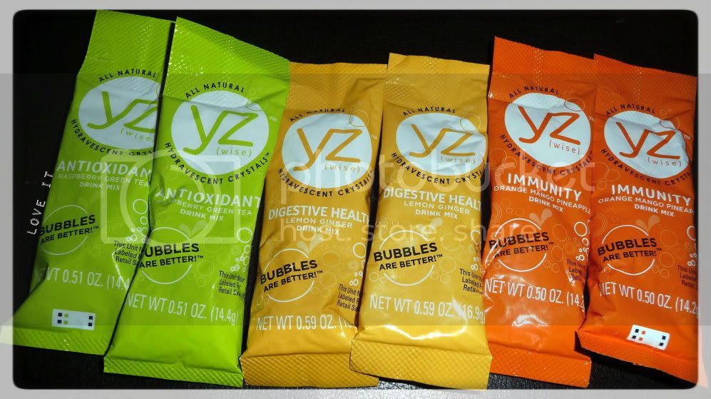 hydrating beverage YZ drink mix